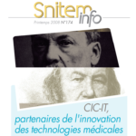 """CIC-ITs, partners for medical technologies and innovation"": presentation by Snitem"